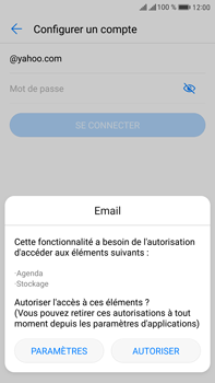 Huawei Mate 9 Pro - E-mail - 032b. Email wizard - Yahoo - Étape 5