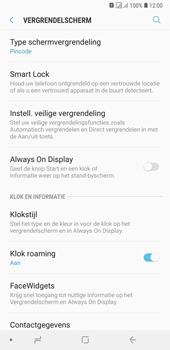 Samsung Galaxy A7 (2018) - Beveiliging - stel in of wijzig pincode voor je toestel - Stap 12