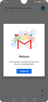 Huawei Y7 (2019) - E-mail - e-mail instellen (gmail) - Stap 13