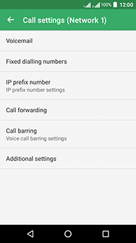 Acer Liquid Zest 4G Plus DualSim - Voicemail - Manual configuration - Step 7