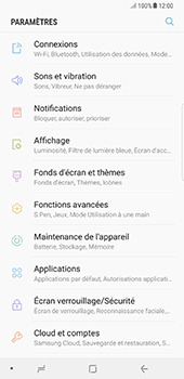 Samsung Galaxy Note 8 - Applications - Supprimer une application - Étape 4
