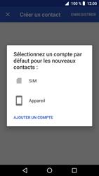 Crosscall Core X3 - Contact, Appels, SMS/MMS - Ajouter un contact - Étape 5
