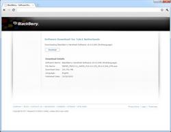 BlackBerry 9800 Torch - Software - installeer firmware update - Stap 5