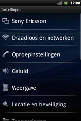 Sony Ericsson Xperia Mini Pro - MMS - handmatig instellen - Stap 4