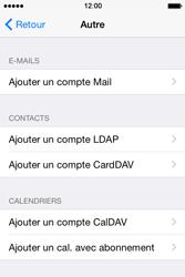 Apple iPhone 4S (iOS 8) - E-mails - Ajouter ou modifier un compte e-mail - Étape 6