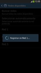 Samsung Galaxy S4 Mini - Red - Seleccionar una red - Paso 9
