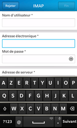 BlackBerry Z10 - E-mail - Configuration manuelle - Étape 9