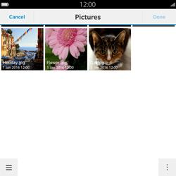 BlackBerry Passport - Mms - Sending a picture message - Step 11