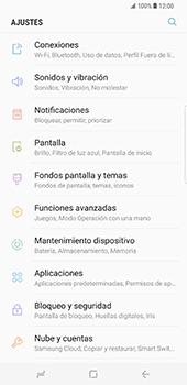 Samsung Galaxy S8 Plus - Funciones básicas - Activar o desactivar el modo avión - Paso 4