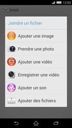 Sony D6503 Xperia Z2 LTE - E-mail - Envoi d
