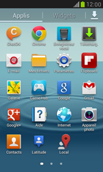 Samsung I8190 Galaxy S III Mini - E-mail - envoyer un e-mail - Étape 2