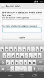 Huawei Ascend P7 - Email - Manual configuration POP3 with SMTP verification - Step 21