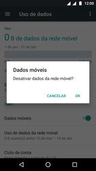 Motorola Moto G5 - Rede móvel - Como ativar e desativar uma rede de dados - Etapa 6