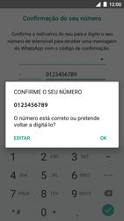 BQ Aquaris U - Aplicações - Como configurar o WhatsApp -  10