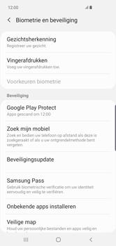 Samsung Galaxy S10 Plus - Toestel - stel Zoek mijn mobiel in - Stap 5
