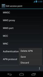 Acer Liquid E1 - Internet - Manual configuration - Step 16