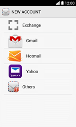 Huawei Ascend Y330 - Email - Manual configuration - Step 5