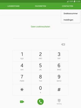 Samsung T815 Galaxy Tab S2 9.7 - Voicemail - Handmatig instellen - Stap 5
