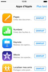 Apple iPhone 4s iOS 8 - Applications - Télécharger des applications - Étape 3