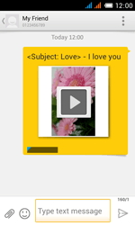 Alcatel OT-4033X Pop C3 - Mms - Sending a picture message - Step 17