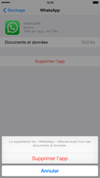 Apple iPhone 6 Plus iOS 8 - Applications - Supprimer une application - Étape 8