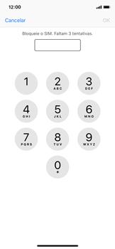 Apple iPhone X - iOS 12 - Segurança - Como ativar o código PIN do cartão de telemóvel -  6