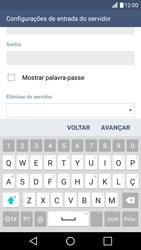LG K10 4G - Email - Configurar a conta de Email -  13