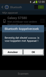 Samsung S7580 Galaxy Trend Plus - Bluetooth - headset, carkit verbinding - Stap 7