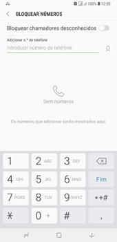 Samsung Galaxy A6 Plus DualSim - Chamadas - Como bloquear chamadas de um número -  8