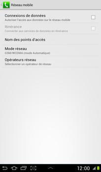 Samsung P3100 Galaxy Tab 2 7-0 - Internet - configuration manuelle - Étape 8