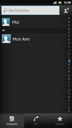 Sony Xpéria S - Contact, Appels, SMS/MMS - Ajouter un contact - Étape 8
