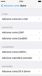Apple iPhone 5s iOS 9 - Email - Configurar a conta de Email -  7