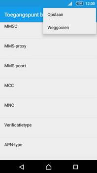 Sony E6853 Xperia Z5 Premium - Internet - handmatig instellen - Stap 21