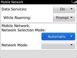 BlackBerry 9720 Bold - Network - Usage across the border - Step 6