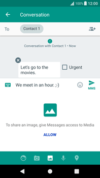Sony Xperia XA1 Plus - Mms - Sending a picture message - Step 11