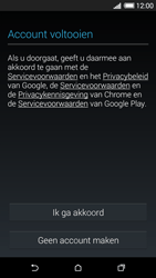 HTC Desire 620 - Applicaties - Account aanmaken - Stap 14