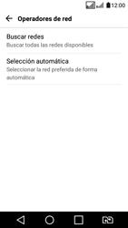 LG K4 (2017) - Red - Seleccionar una red - Paso 7