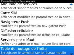 BlackBerry 9320 Curve - Paramètres - Reçus par SMS - Étape 6