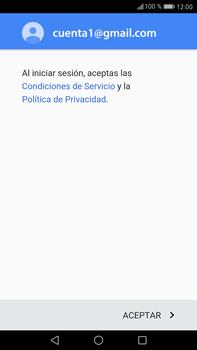 Huawei Mate 9 - E-mail - Configurar Gmail - Paso 12
