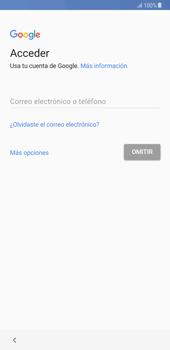 Samsung Galaxy Note 8 - Primeros pasos - Activar el equipo - Paso 8
