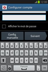 Samsung S6790 Galaxy Fame Lite - E-mail - Configurer l