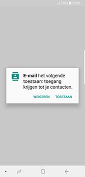 Samsung galaxy-s8-g950-android-oreo - E-mail - Account instellen (POP3 zonder SMTP-verificatie) - Stap 5