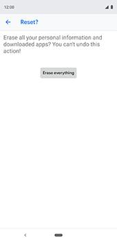 Google Pixel 3XL - Device - Factory reset - Step 11