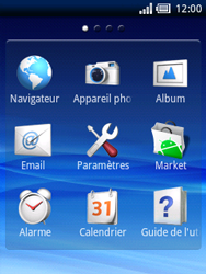 Sony Ericsson Xperia X10 Mini - Internet - Navigation sur internet - Étape 2