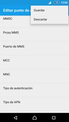 Sony Xperia Z5 Compact - Mensajería - Configurar el equipo para mensajes multimedia - Paso 15