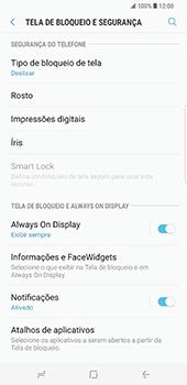 Samsung Galaxy S8 Plus - Segurança - Como ativar o código de bloqueio do ecrã -  5