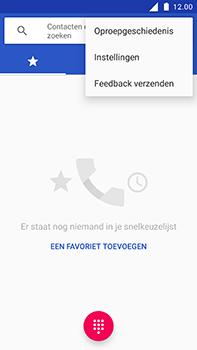 Nokia 6 - Voicemail - Handmatig instellen - Stap 5