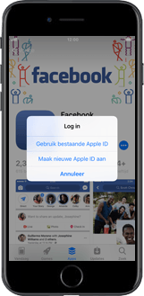 Apple iPhone 8 Plus - apps - account instellen - stap 6