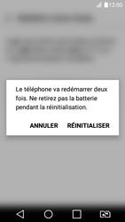 LG K4 2017 - Device maintenance - Retour aux réglages usine - Étape 9