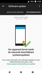 Sony Xperia XZ1 - Software update - update installeren zonder PC - Stap 7